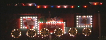 lit holiday train