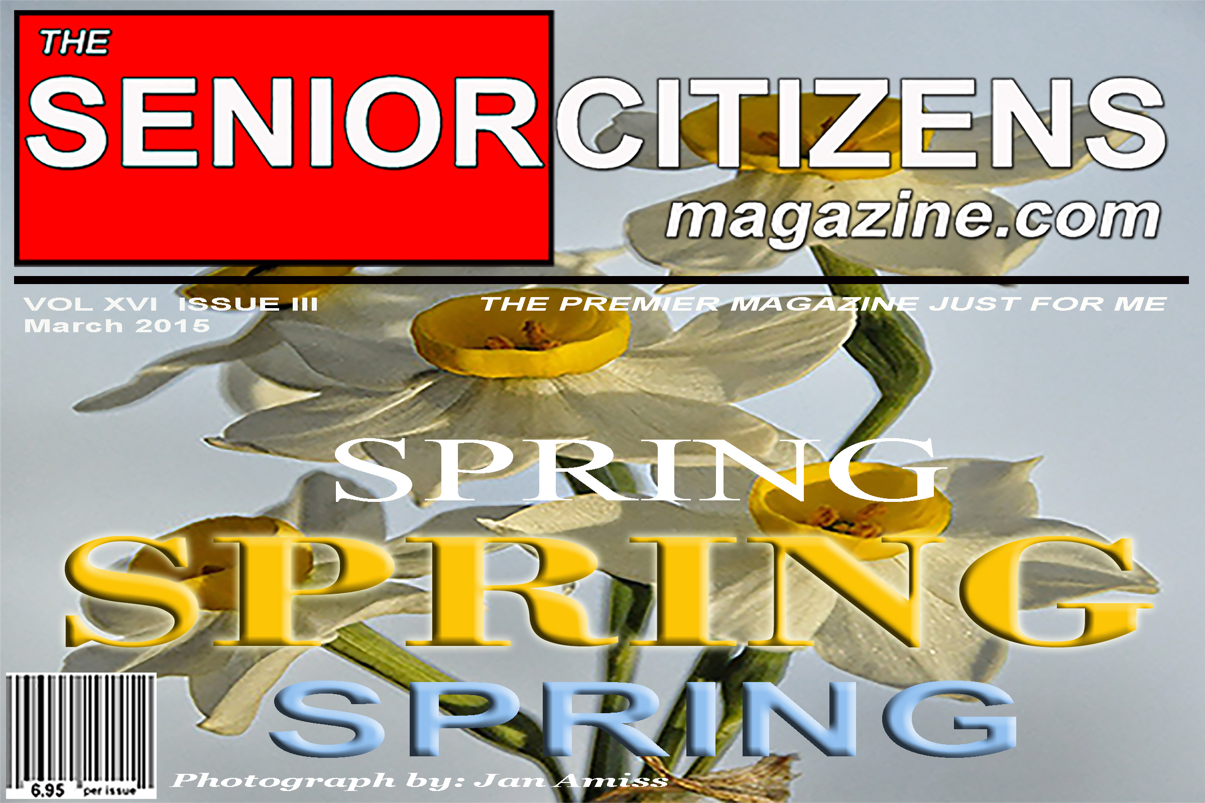 ring in spring with The Senior Citizens Magazine
