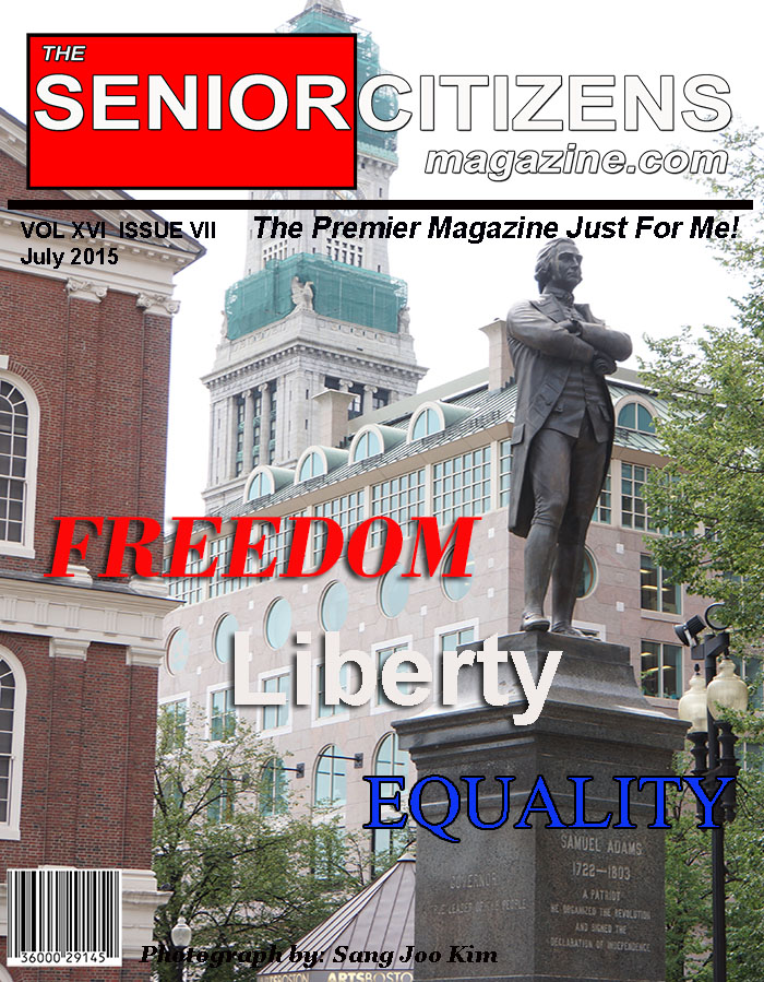 The Senior Citizens / Baby Boomer Magazine wishes all people Freedom, Liberty and Equality.
