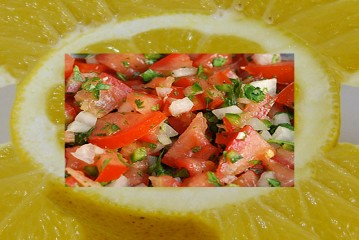 SALSA WITH LEMON!