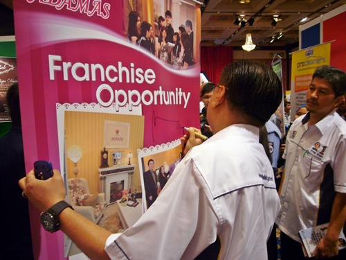 The franchise business opportunity.