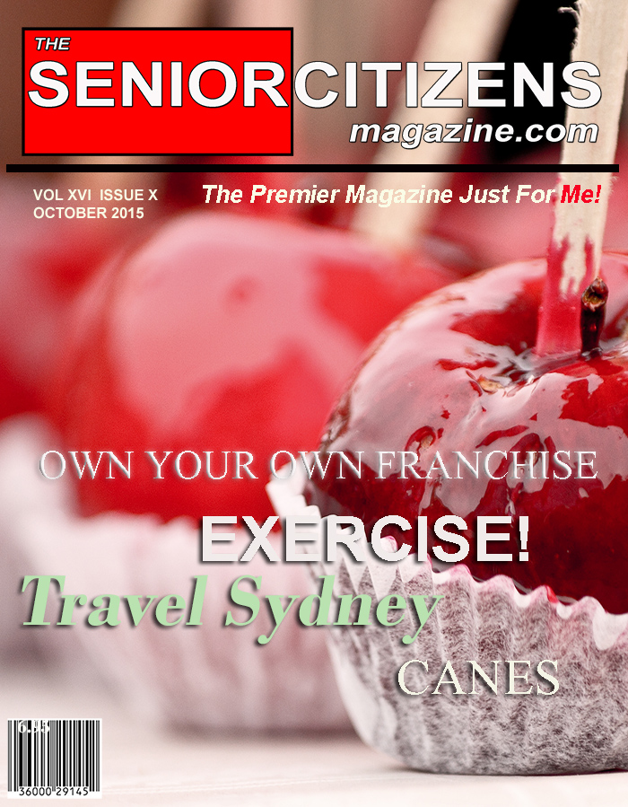 THE SENIOR CITIZENS AND BABY BOOMER MAGAZINE – OCTOBER 2015