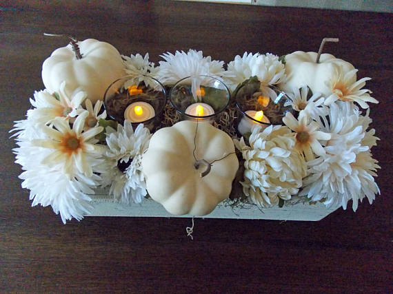 dyi harvest centerpiece
