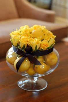 lemon centerpiece gen x holiday centerpiece