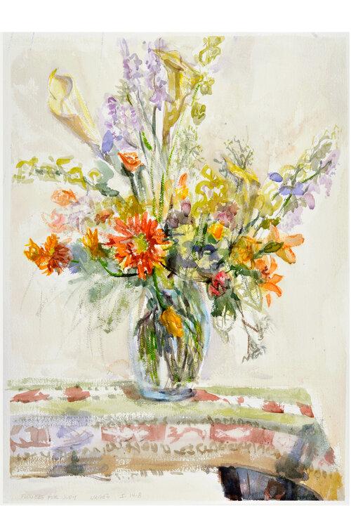 Flowers for Judy, Ralph Nagel