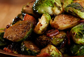 DELIGHTFULLY DELICIOUS HONEY BALSAMIC ROASTED BRUSSEL SPROUTS