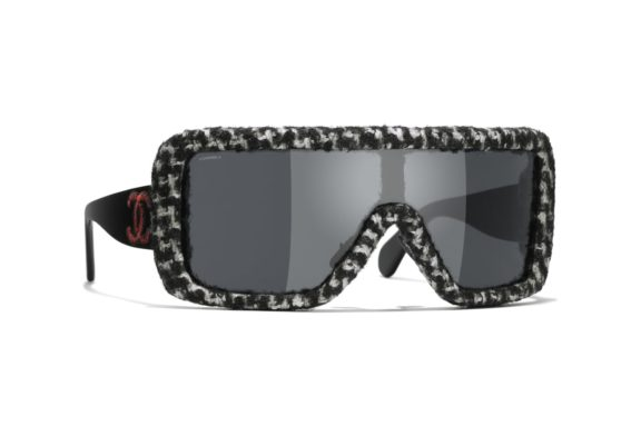 MEN'S SUNGLASSES BY CHANEL.  SEE THE WORLD THROUGH YOUR OWN EYES…